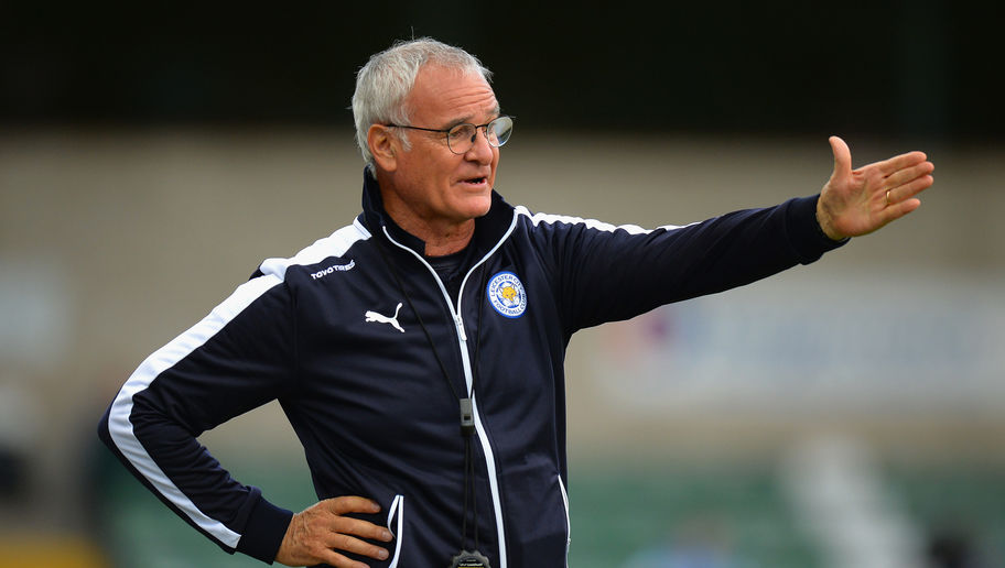 LINCOLN, ENGLAND - JULY 21:  Claudio Ranieri, Manager of Leicester City during the Pre Season Friendlly match between Lincoln City and Leicester City at Sincil Bank Stadium on July 21, 2015 in Lincoln, England.  (Photo by Tony Marshall/Getty Images)